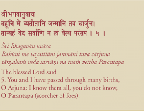 Bhagavad Gita – Chapter I